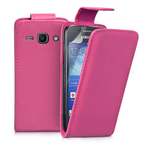 Casing Samsung Ace 3 yousave samsung galaxy ace 3 leather effect flip