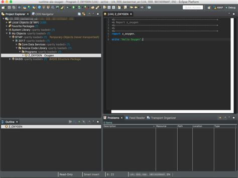 themes eclipse oxygen abap development tools 2 80 benefits from eclipse oxygen