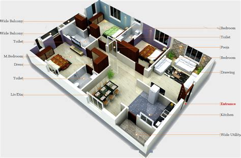 Master Bedroom Floor Plans Aryamitra Oak Tree In Narsingi Hyderabad Price