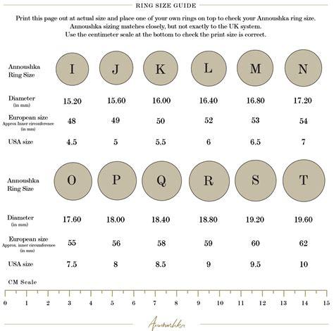 printable ring sizer tool uk size guide annoushka com