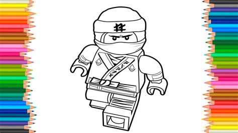 beautiful ninjago coloring pages lloyd artsybarksy