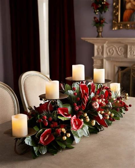 gorgeous christmas floral arrangements family holiday