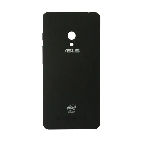 jual casing asus zenfone c black free softcase for