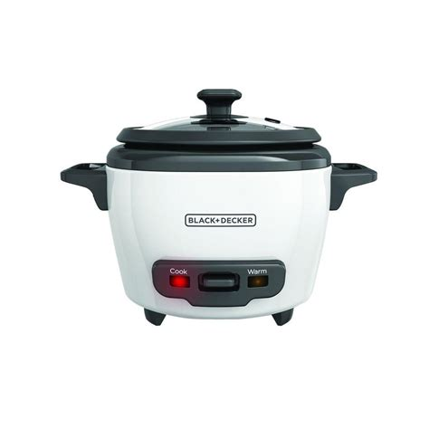 Rice Cooker 3 In 1 black decker 3 cup rice cooker rc503 the home depot