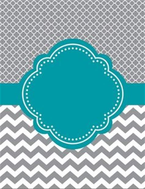 free printable binder covers no download moroccan and chevron binder cover two versions teal and