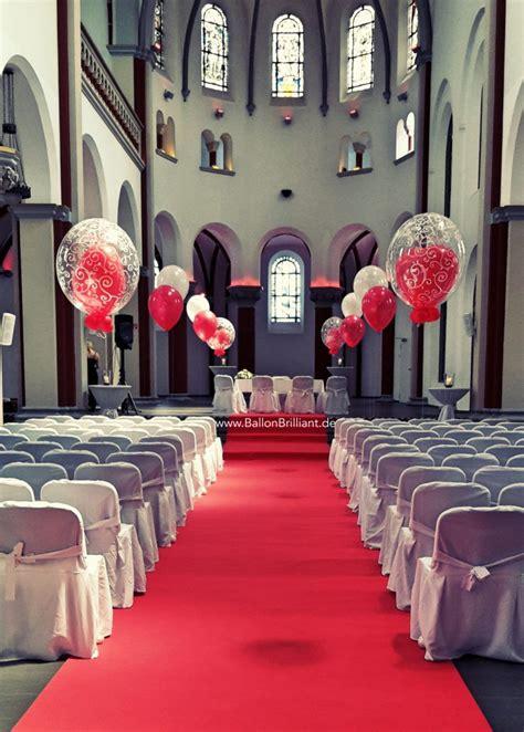 Hochzeitsdekoration Kirche by Kirchen Deko Hochzeit Ballonbrilliant