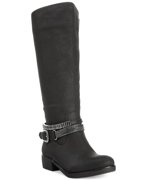 wide moto boots style co style co wardd embellished wide calf moto
