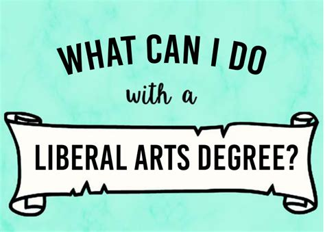 Liberal Arts College Undergrad Mba Admissions by What Can I Do With A Liberal Arts Degree American