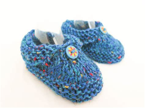 toddler bootie slippers knit baby boy slippers baby booties blue tweed