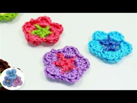 como hacer flores de crochet como hacer flores de crochet how to crochet a flower diy