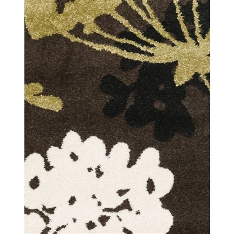brown and green rugs safavieh porcello brown green 2 ft x 3 ft 7 in area rug