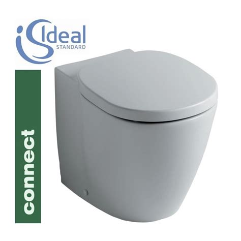 vaso connect ideal standard sanitari connect filo parete con coprivaso