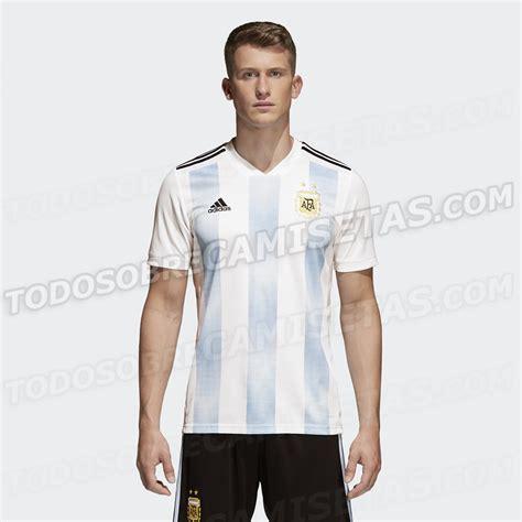 anticipo camiseta de argentina rusia 2018 todo sobre