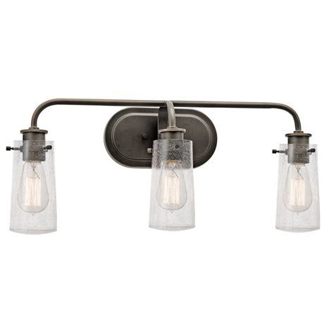 rustic bathroom light fixtures lighting three light wall mount bath design for bathroom