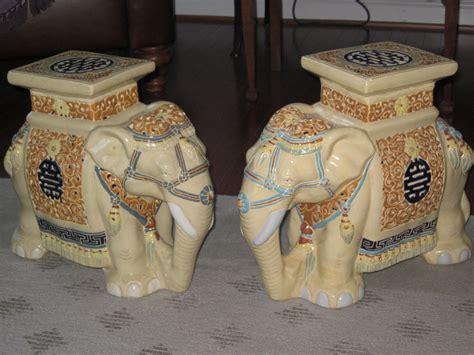 Vintage Elephant Garden Stool by Elephant Garden Stool Circa Garden Seats The Circa And