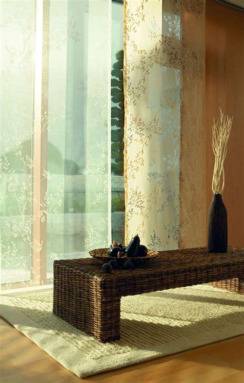 gardinen für wohnzimmer mit balkontür wohnzimmer wei 223 braun