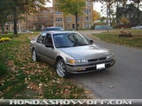 1990 Honda Accord Specs Hondashowoff 1990 Honda Accord Sedan