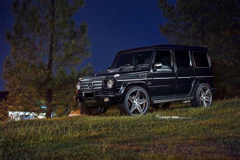 mercedes g wagon black mercedes g class adv5s deep concave cs adv 1 wheels