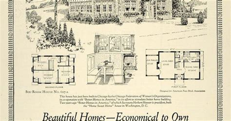 chicago bungalow house plans 1925 ad home bungalow house plan chicago herbert hoover