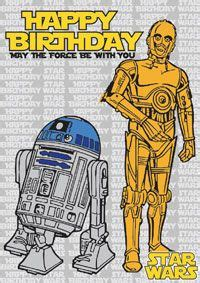 wars birthday cards c3po and r2d2 print for free wars c3po and