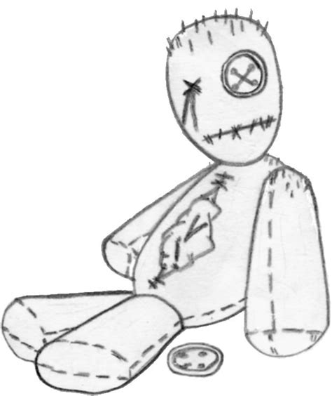 rag doll outline 17 best images about voodoo doll on
