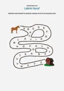 Bermain Dengan Huruf A Z belajar anak labirin huruf a z cupidocreativeblog