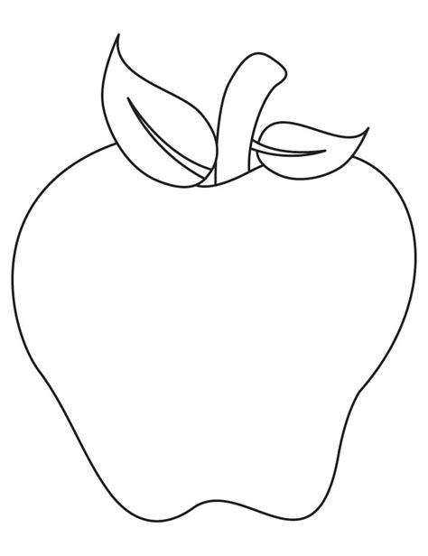 apple half coloring page free coloring pages of half apple
