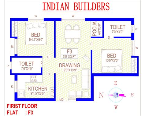 floor plan of house in india indian residential house floor plans house design ideas