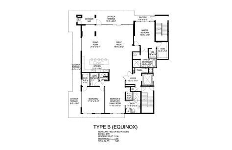 Equinox Floor Plan | equinox floor plan meze blog