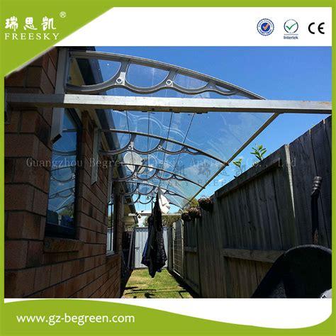 polycarbonate awning brackets yp100120 100x120cm 100x240cm 100x360cm white plastic