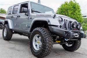 Jeep Rubicons For Sale 2014 Custom Billet Jeep Rubicon Unlimited For Sale