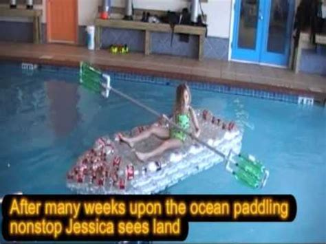 How To Make A Big Boat Out Of Paper - the world s coke bottle canoe from plastic bottles