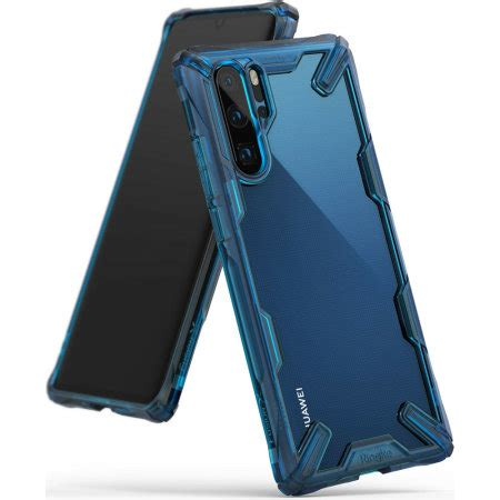 rearth ringke fusion  huawei p pro case space blue