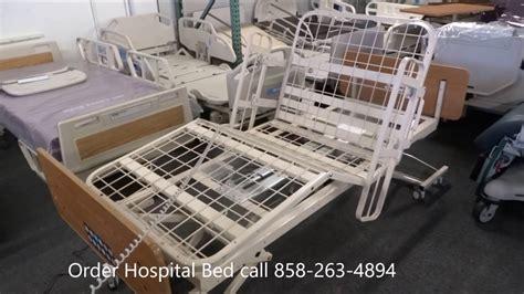 full electric high  adjustable hospital bed medline youtube