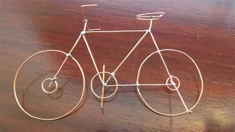 copper wire bicycle by as m