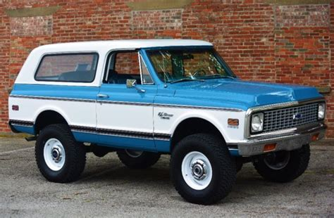 Interior Paint Colors To Sell Your Home 1972 Chevrolet K5 Blazer Restomod