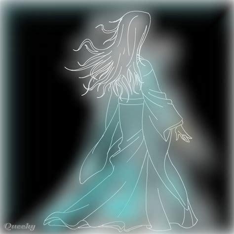 ghost girl  horror speedpaint drawing  firedragon