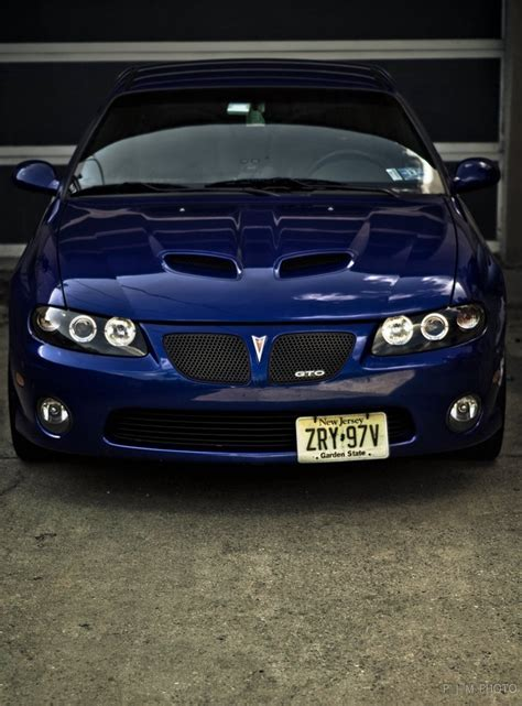 2006 pontiac gto upgrades 2006 impulse blue metallic pontiac gto pictures mods