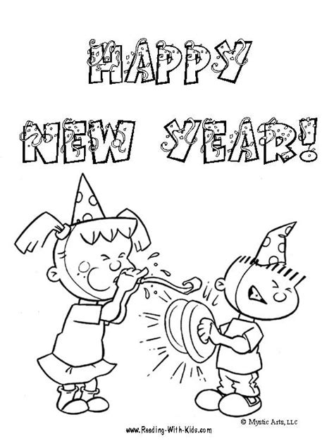 printable coloring pages new years eve free new year s eve coloring pages and learning activities