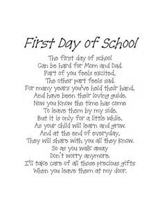 Back to school poem pdf school pinterest