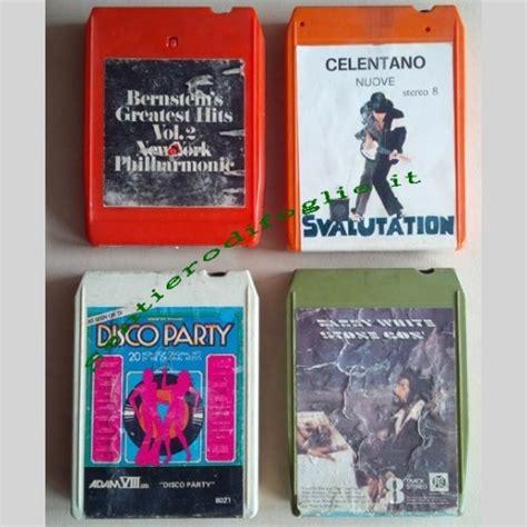 cassetta stereo 8 cassette stereo 8 anni 70 stock cartucce