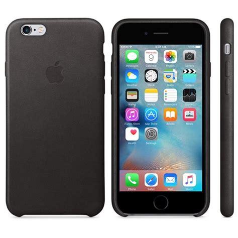 leather case iphone  hitam
