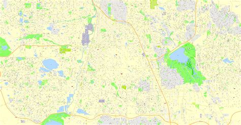map of colorado vector denver printable map colorado us exact vector street g view plan city level 17 100 meters
