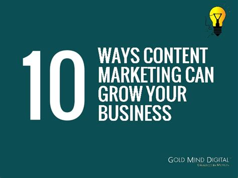 grow marketing 10 ways content marketing can grow your business
