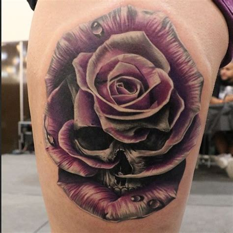 the 25 best ideas about skull rose tattoos on pinterest