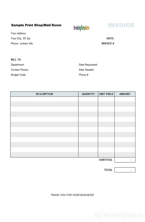 vendor invoice template vendor invoice template rabitah net