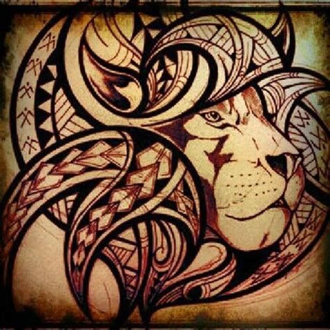 tribal tattoo kauai tribal lion tattoo from south pacific islanders fb page