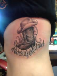cowboy boots and hat just for you nicholas tattoos