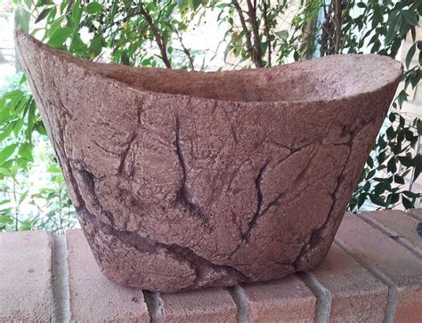 Hypertufa Planter by Hypertufa Planter Yard Garden