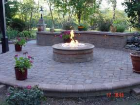Patios And Firepits Extraordinary Patio With Pit Concept For Big House Homesfeed